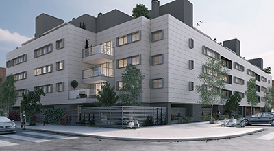 Residencial Coronales Fase II exterior